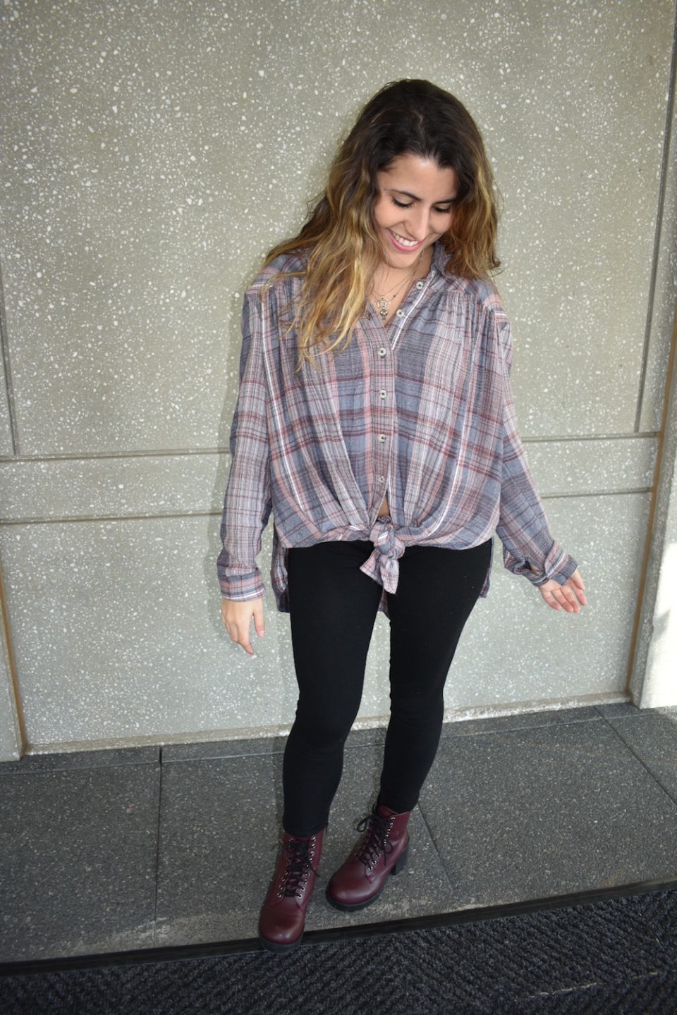 Oversized Plaid Shirts