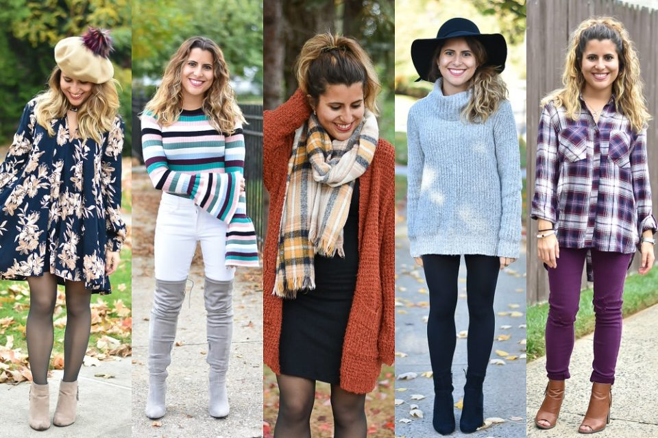 5 Easy Fall Styles