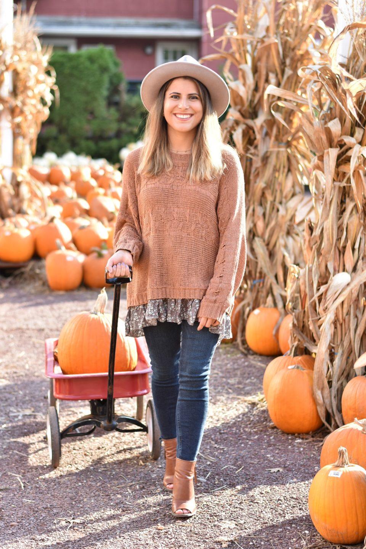 Pumpkin Picking at Williams Nursery