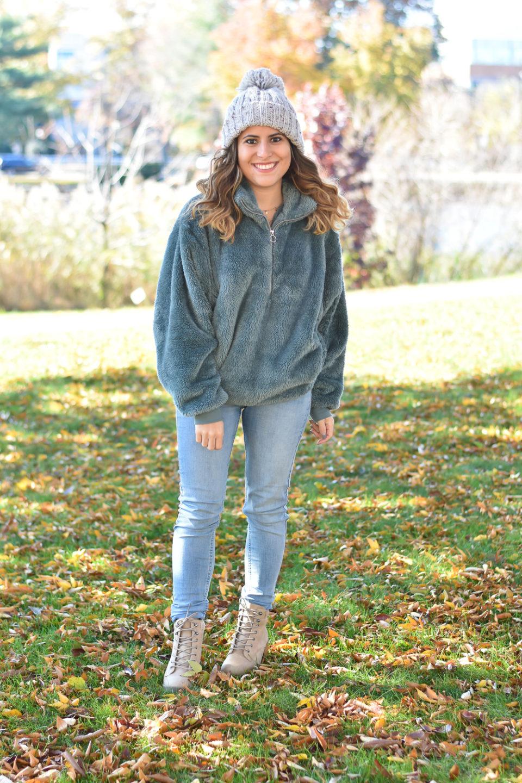 Coziest Fleece Pullover